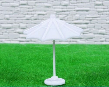 Scale Model Umbrella | 1:100 (42mm) | White | Sold by Pc | AM0036