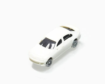 Scale Model Car | 1:150 (33x12mm) | White | Sold by Pc | AM0001