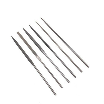 Needle File Set of 6 | Cut #2 | 20cm Length | FIL-912.20