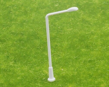 Scale Model Street Light 5Pc | 1:150 (25.5mm) | White Single Side | Sold by 5Pc/Pk | AM0063