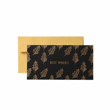 Oak Leaf Greeting Card With Envelop | H194904