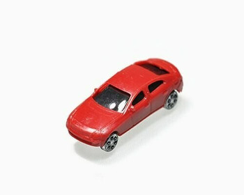 Scale Model Car | 1:150 (33x12mm) | Red | Sold by Pc | AM0002