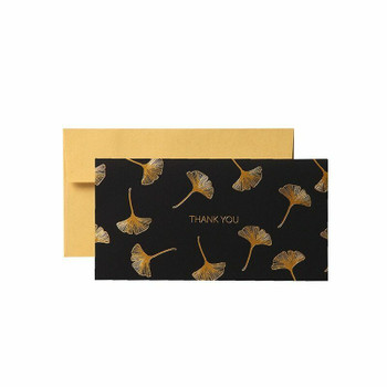 Ginkgo Greeting Card With Envelop | H194905
