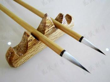 Bamboo Brush | White Rabbit Hair | Bristle Length 2.5cm | H196313