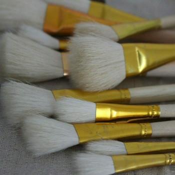 Glazing Brushes | Large Capacity Goat Hair | H2005G