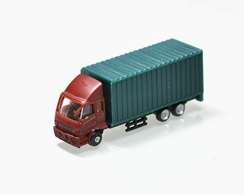 Scale Model Truck | 1:150 (54x15x21mm) | Red | Sold by Pc | AM0022