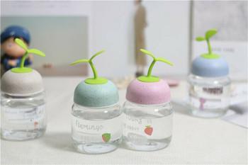 New Sapling Glass Bottles | 250ml | H1913C