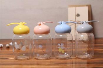 Happy Bunny Glass Bottles | 350ml | H1913E