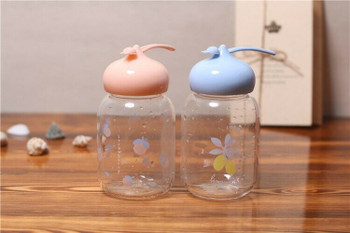 Happy Bunny Glass Bottles | 350ml | H1913E