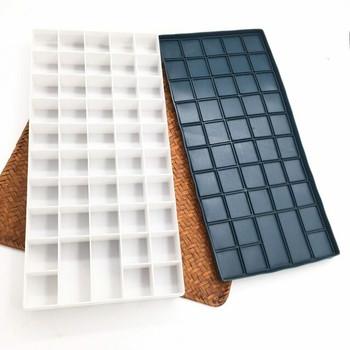 Color Box Rubber leakproof Lid 48 Grids | CGB048