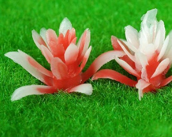 Scale Model Plant 10pc | 10mm | Red |Sold by 10Pc/Pk | AM0040