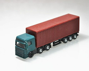 Scale Model Truck | 1:100 (120x24x38mm) | Green | Sold by Pc | AM0024