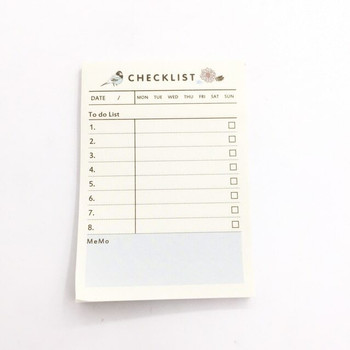 Checklist Sticky Notes | for Daily Planning | H192110