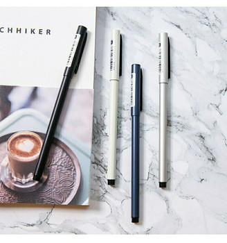 (STRG) FIIHFIO Weighted Metal Pen | 0.5mm Black Ballpoint | 6920930309698