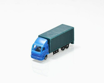 Scale Model Truck | 1:200 (41x11x15mm) | Green | Sold by Pc | AM0017