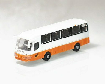 Scale Model Bus | 1:100 (100x26x32mm) | Orange | Sold by Pc | AM0014
