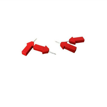 Red Wooden Arrow Push Pins | 20mm | Box of 30 | H198213