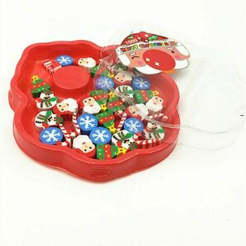 Christmas Mini Eraser | Set of 35 | H201301
