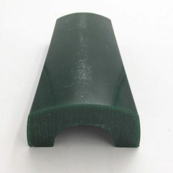 Half-Round Bracelet Green Wax | Dimensions ID: 44mm, OD: 80mm, L: 158mm | K190102