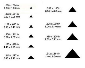 """925 Sterling silver Triangle Wire 