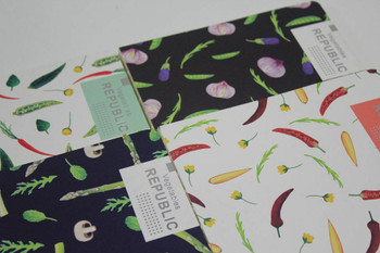 "Joytop ""Vegetables Republic"" Notebooks 