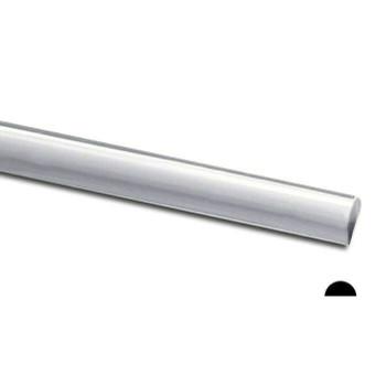 925 Sterling silver Half-Round Wire, 10Ga(2.59mm)   Sold by cm   100410  Bulk Prc Avlb