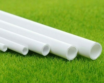 ABS Plastic Tubing | Round | OD:6mm ID:4.9mm L:250mm | Sold by Pc | AM0083
