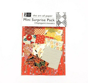 Mini Surprise Paper Pack | Chiyogami Mosaics | POT11298