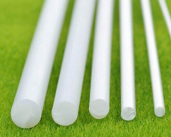 ABS Plastic Rod | Round | 6x250mm | Sold by Pc | AM0090