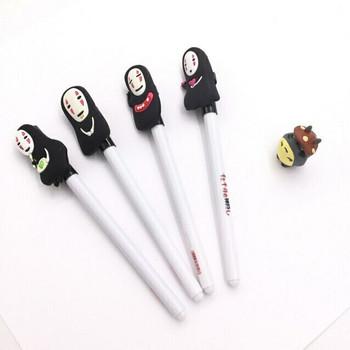 White No-Face Pens   0.5mm Black Ink   H2010NFW