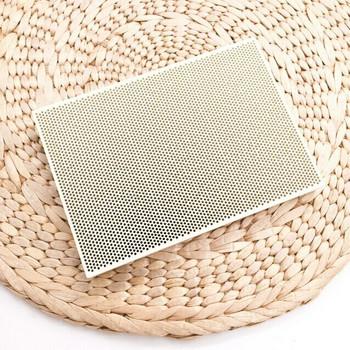 Ceramic Honeycomb Soldering Board | 13.5 x 9.5 cm | SOL-430.00