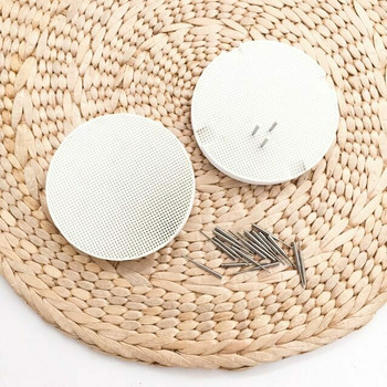 Mini Honeycomb Soldering Block | Metal Pins, Small Hole | 8cm dia. | SOL-446.00
