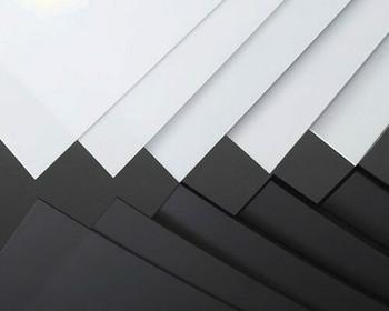 PVC Plastic Sheet | White | 300x200x2mm | Sold by Pc | AM0100