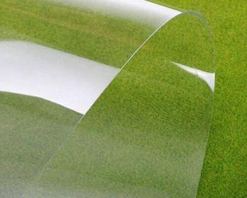 PVC Plastic Flexible Sheet | Clear | 300x200x0.3mm | Sold by Pc | AM0101