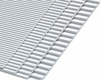 ABS Plastic Steps (Stairs) Sheet| 148x210mm |Style B| Sold by Pc | AM0105