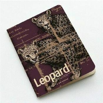 """Imagionte Sketch Book """"Leopard"""" 11.9x15.9cm 48Pg Limited   JI0007"""