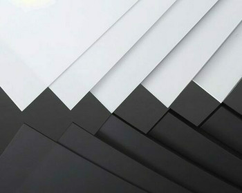 ABS Sheet | White | 200x250x0.5mm | Sold by Pc | AM0111