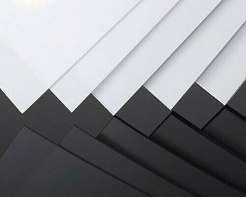 ABS Sheet | White | 200x400x2mm | Sold by Pc | AM0114