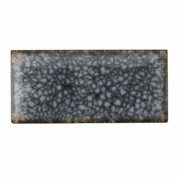 Thompson Lead-Free Opaque Enamel | 1006 White Crackle-Base | 0.3 oz Sample --