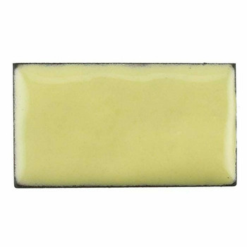 Thompson Lead-Free Opaque Enamel | 1225 Lemon Yellow | 0.3 oz Sample --