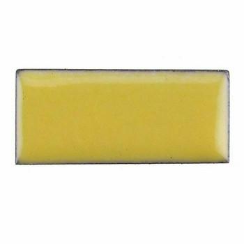 Thompson Lead-Free Opaque Enamel 1237 Butter Yellow 0.3 oz Sample --