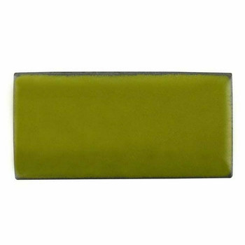 Thompson Lead-Free Opaque Enamel 1319 Bitter Green 0.3 oz Sample --