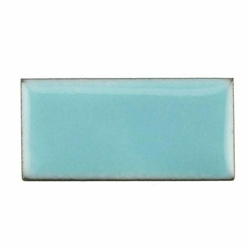 Thompson Lead-Free Opaque Enamel 1422 Aqua Marine Green 0.3 oz Sample --