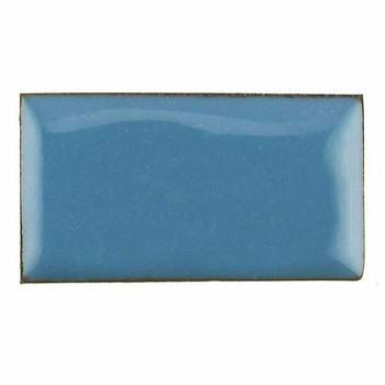 Thompson Lead-Free Opaque Enamel 1525 Aqua Blue 0.3 oz Sample --