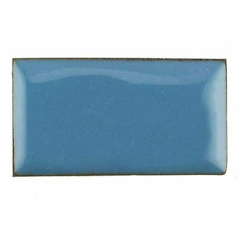 Thompson Lead-Free Opaque Enamel | 1525 Aqua Blue (A) | 0.3 oz Sample