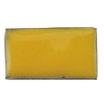 Thompson Lead-Free Opaque Enamel 1820 Goldenrod Yellow 0.3 oz Sample --
