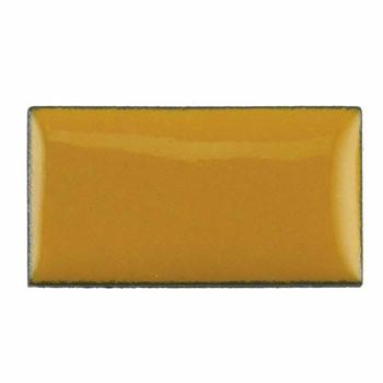 Thompson Lead-Free Opaque Enamel 1830 Marigold Yellow 0.3 oz Sample --