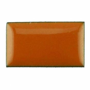 Thompson Lead-Free Opaque Enamel 1850 Pumpkin Orange 0.3 oz Sample --