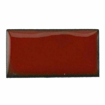 Thompson Lead-Free Opaque Enamel 1870 Orient Red 0.3 oz Sample --