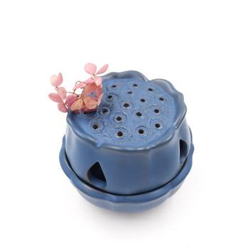 Blue Ceramic Incense Burner | H205405
